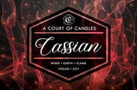 General Commander Cassian - 100% Soy Wax - A Court of Candles