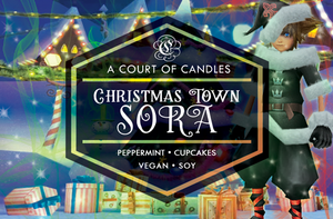 Christmas Town Sora - Soy Candle