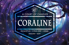 Coraline - Soy Candle