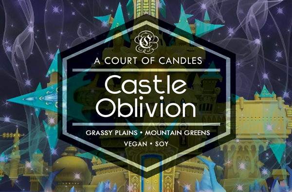Castle Oblivion - KH Worlds Collection - Soy Candle