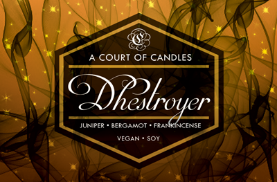 Dhestroyer - Soy Candle