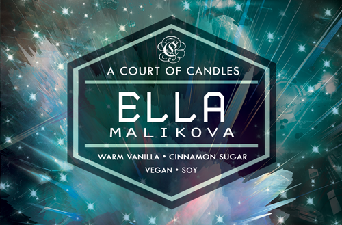 Ella - Until The Last Star Limited Editions - Soy Candle