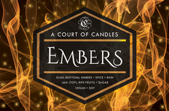Embers - Soy Candle
