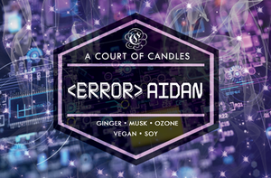 <Error> AIDAN - Until The Last Star Limited Editions - Soy Candle