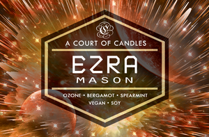 Ezra - Until The Last Star Limited Editions - Soy Candle
