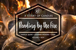 Reading by the Fire - Soy Candle