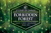 Forbidden Forest - 100% Soy Wax - A Court of Candles