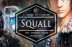 Squall [FF8] - Gamer Collection - Soy Candle