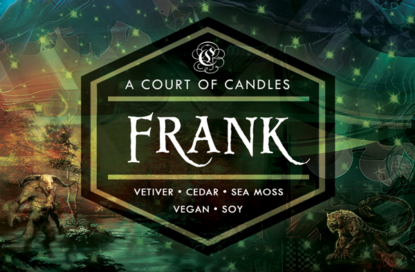 Frank - Half-Blood Heroes Limited Editions - Soy Candle