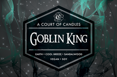 Goblin King - Soy Candle