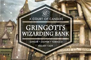 Gringotts Bank - Soy Candle