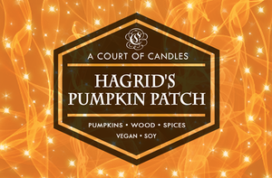 Hagrid's Pumpkin Patch - Soy Candle