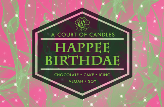 Happee Birthdae - Soy Candle