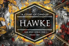 Hawke - From Blood & Ash - Soy Candle