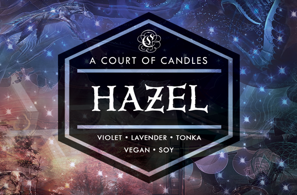 Hazel - Half-Blood Heroes Limited Editions - Soy Candle