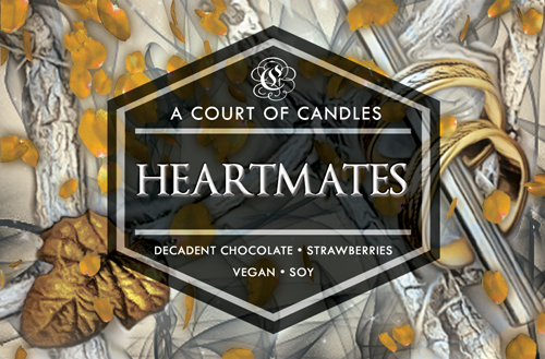 Heartmates - From Blood & Ash - Soy Candle