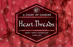 Heart-Threads - Soy Candle