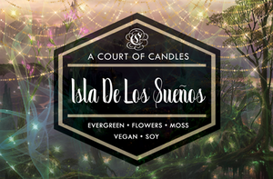 Isla De Los Suenos - Welcome to Caraval Limited Edition - Soy Candle