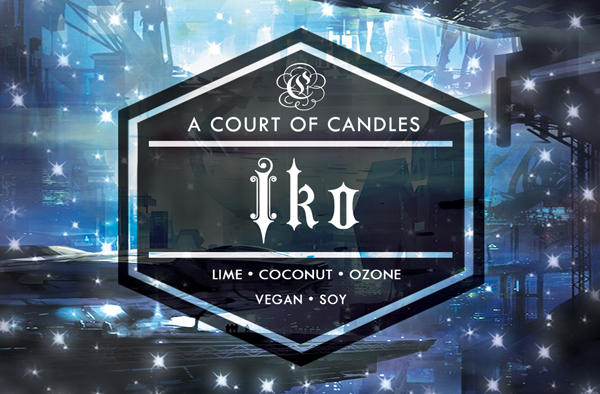 Iko - Oh My Stars Limited Editions - Soy Candle