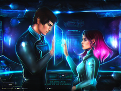 Art Print - Kady & Ezra - ACOC Exclusive