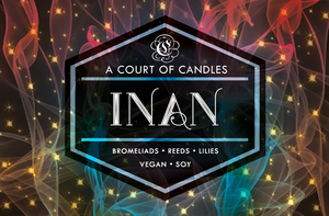 Inan - Legacy of Orïsha - Soy Candle