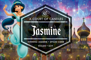 Jasmine - Fairytale Princesses Limited Edition - Soy Candle