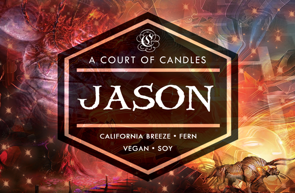 Jason - Half-Blood Heroes Limited Editions - Soy Candle
