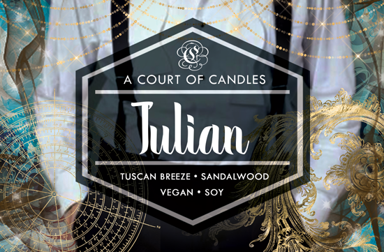 Julian - Welcome to Caraval Limited Edition - Soy Candle