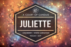Juliette - Shatter Me Limited Editions - Soy Candle
