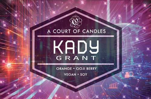 Kady - Until The Last Star Limited Editions - Soy Candle