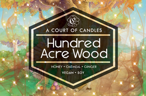 Hundred Acre Wood - Kingdom Hearts Worlds Collection - Soy Candle