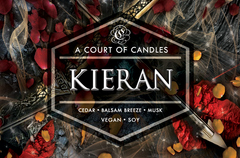 Kieran - From Blood & Ash - Soy Candle
