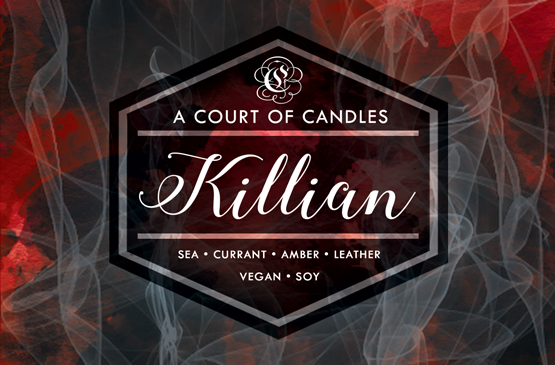 Killian - 100% Soy Wax - A Court of Candles