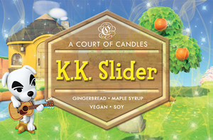 K.K. Slider [AC] - Gamer Collection - Soy Candle