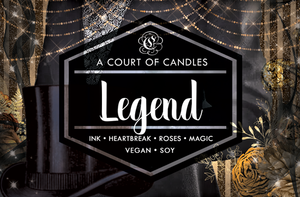 Legend - Welcome to Caraval Limited Edition - Soy Candle