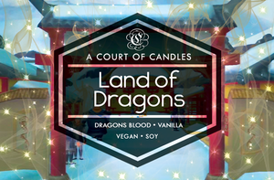 Land of Dragons - KH Worlds Collection - Soy Candle