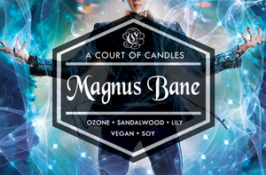 Magnus Bane - Soy Candle