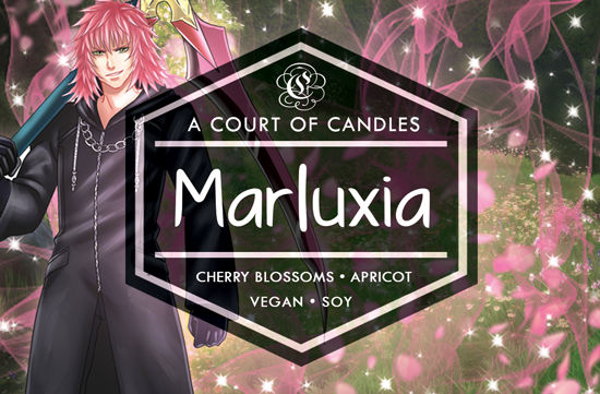 Marluxia - Dearly Beloved [KH] Limited Edition - Soy Candle
