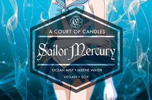 Sailor Scouts - Soy Candles
