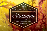 Third-in-Command Morrigan - 100% Soy Wax - A Court of Candles