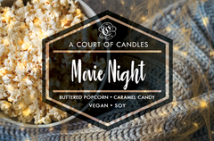 Movie Night - Soy Candle