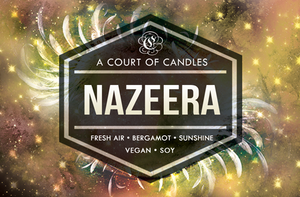 Nazeera - Shatter Me Limited Editions - Soy Candle
