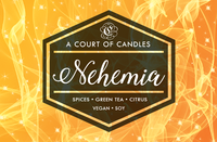 Nehemia - 100% Soy Wax - A Court of Candles
