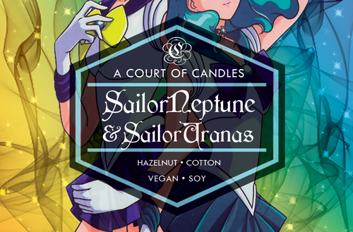 Sailor Neptune & Sailor Uranus - 100% Soy Wax - Sailor Moon
