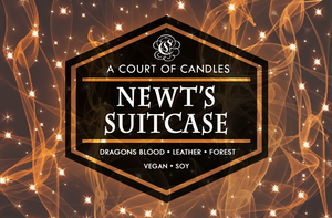 Newt's Briefcase - Soy Candle