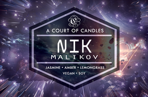 Nik - Until The Last Star Limited Editions - Soy Candle