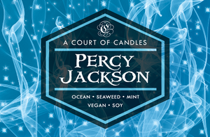 Percy Jackson - Soy Candle