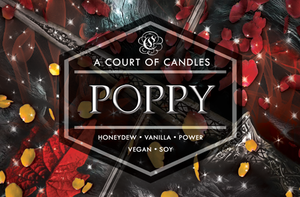 Poppy - From Blood & Ash - Soy Candle