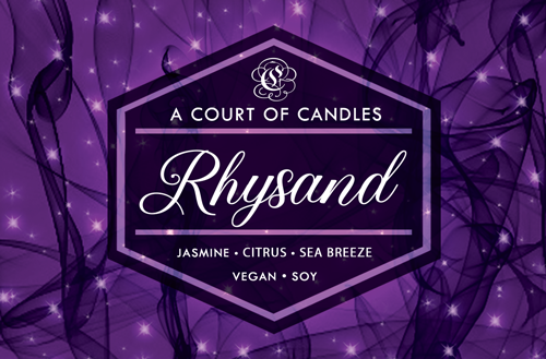 Rhysand - 100% Soy Wax - A Court of Candles