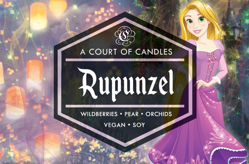 Rupunzel - Fairytale Princesses Limited Edition - Soy Candle